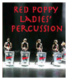 Red Poppy Ladies' Percussion