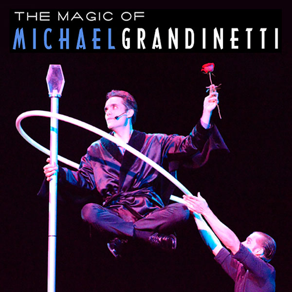 MICHAEL GRANDINETTI AIMS TO EXCITE AND MYSTIFY AMERICA THIS SUMMER