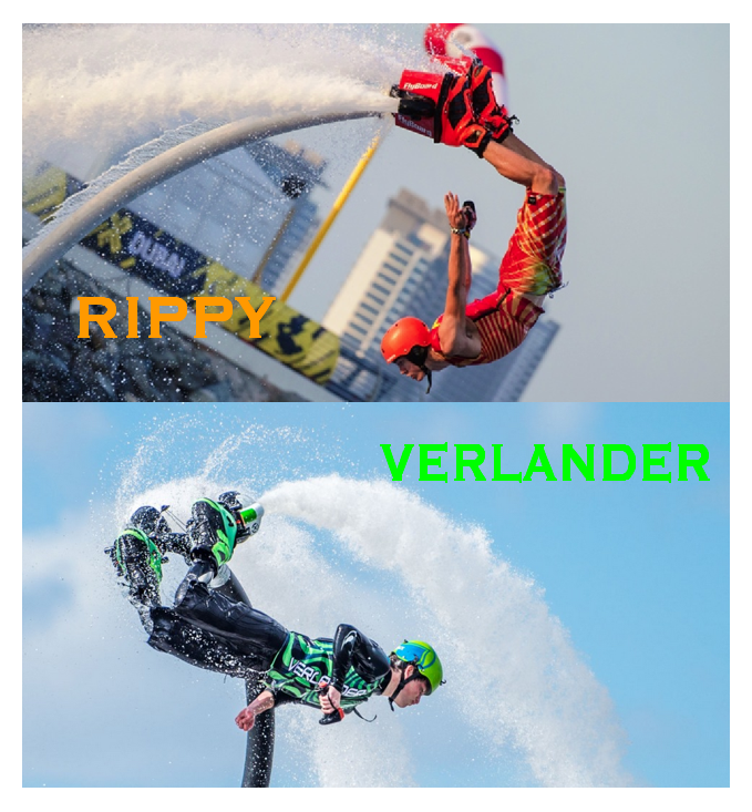 HYDROFLIGHT'S (FLYBOARD) TEXAS TEENS: Rippy and the Poison Dart Frog