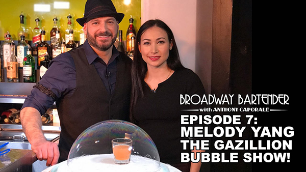 Melody Yang on Broadway Bartender!