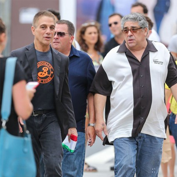 Tony Danza & Vincent Pastore Share Stories At The San Gennaro Feast