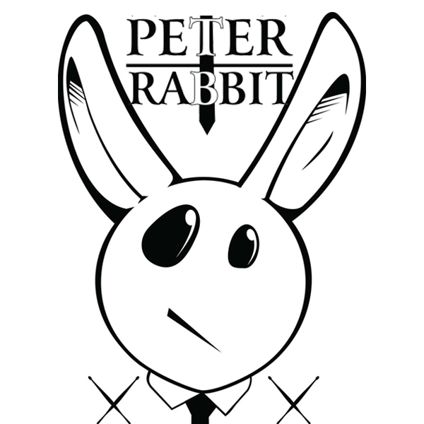 PETER RABBIT – BUCKET DRUMMER