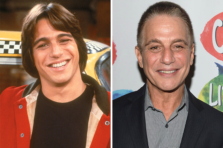 TONY DANZA THEN AND NOW