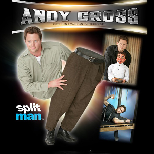 ANDY GROSS – COMEDIAN, MAGICIAN & VENTRILOQUIST