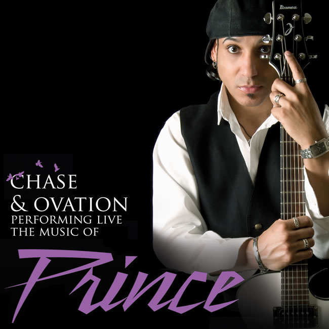 CHASE & OVATION THE WORLD'S PREMIER PRINCE TRIBUTE BAND