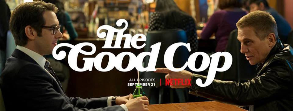 Dorky Josh Groban & 'Dad' Tony Danza in First Look at Netflix's 'The Good Cop'