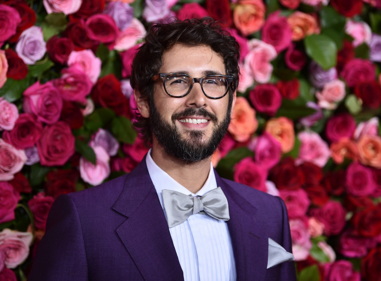 Josh Groban talks hosting the Tonys & having Tony Danza as a TV dad