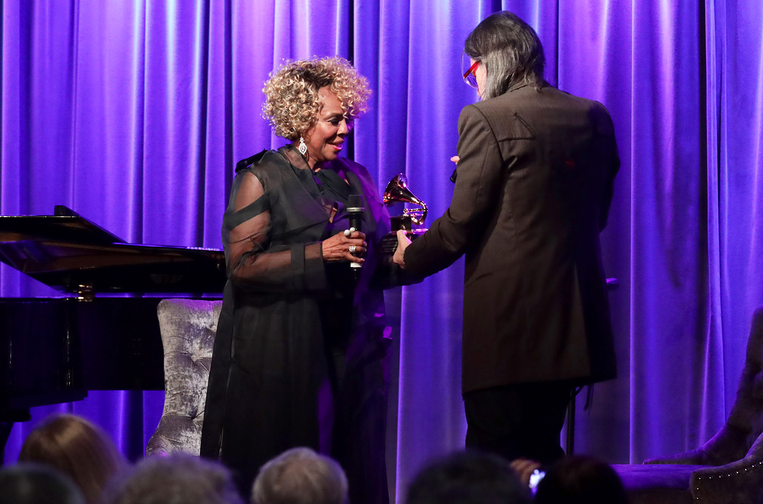 Thelma Houston Gets New Grammy to Replace Trophy Broken in Earthquake