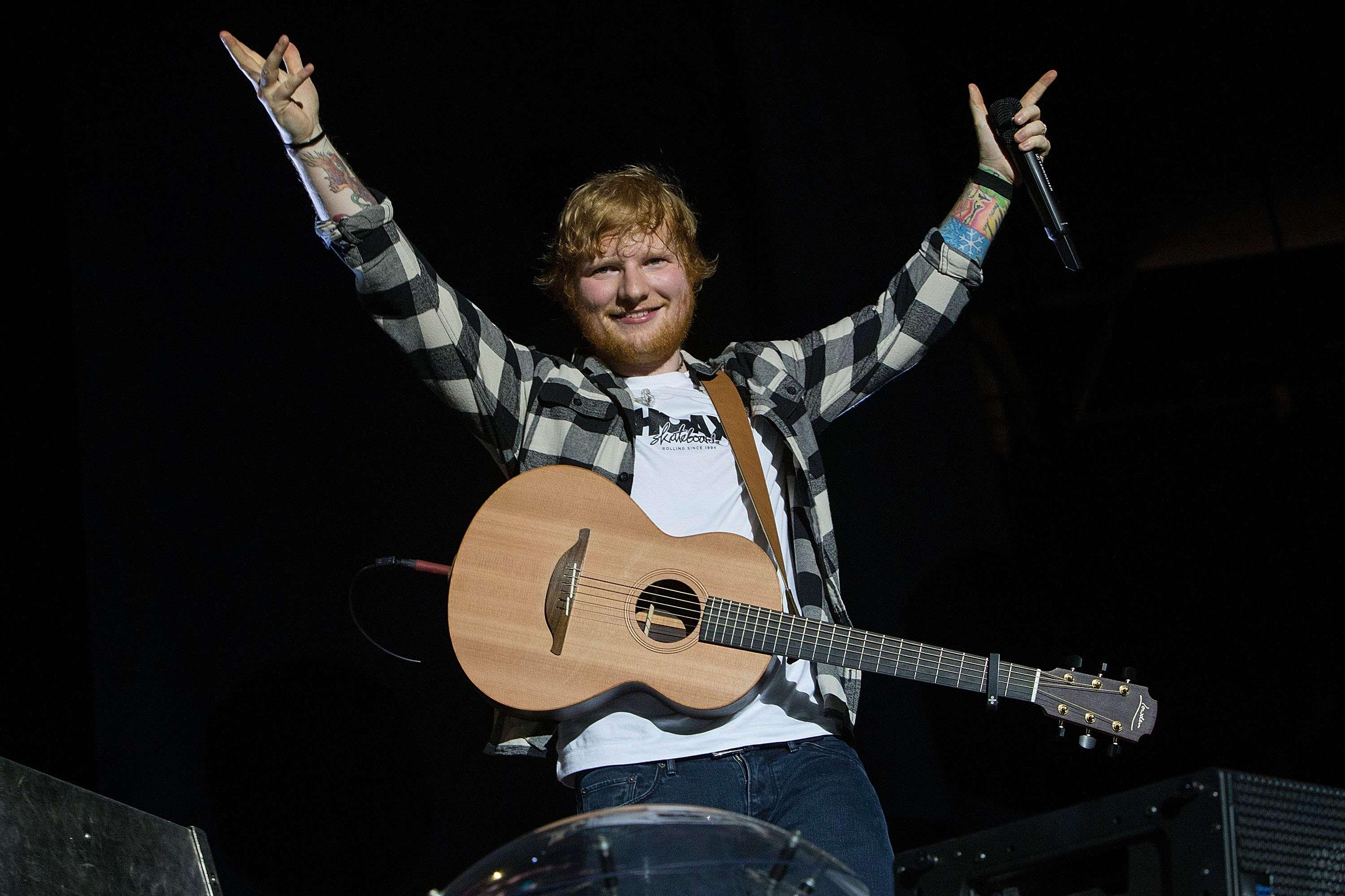 Ed Sheeran Concludes 'Divide' Tour, Sets All-Time Touring Record At $775.6M