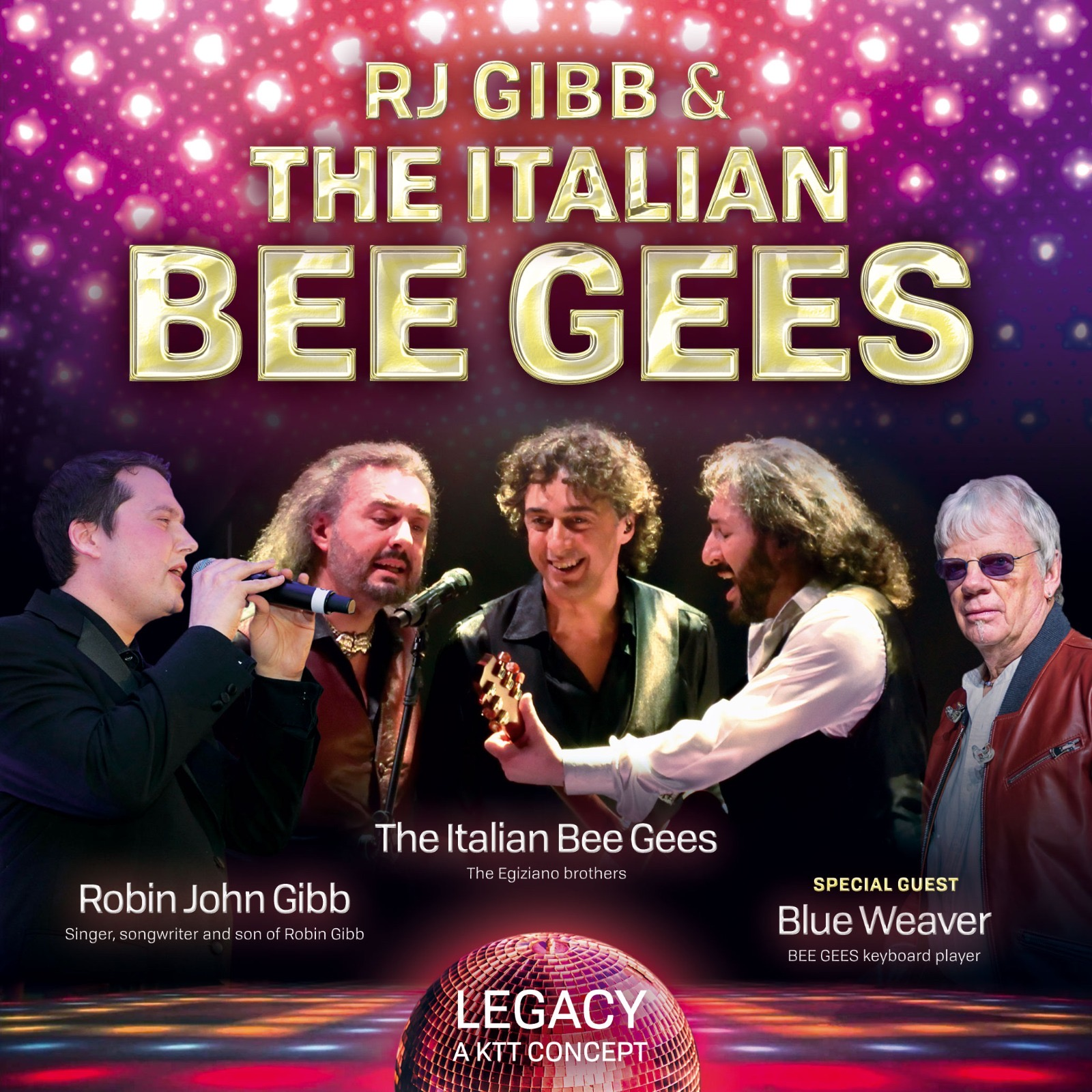 THE ITALIAN BEE GEES (EGIZIANO BROTHERS)